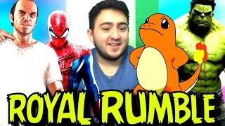TREVOR - Spider Man - Charmander | ROYAL RUMBLE