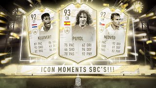 NEW PRIME ICON MOMENT SBC'S! - FIFA 21 Ultimate Team