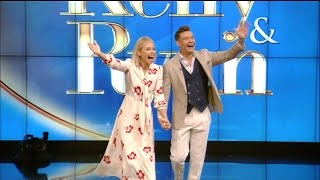 Ryan Seacrest Joins Kelly Ripa Nearly a Year After Michael Strahan Left 'Live!'