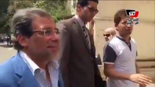 خالد يوسف ينضم لمظاهرة الصحفيين أمام «النقابة»