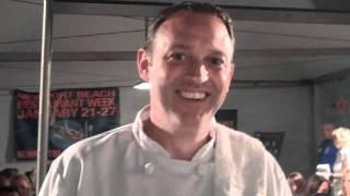 Chef Jeff Corum of Pasta Pomodoro at Taste of Newport