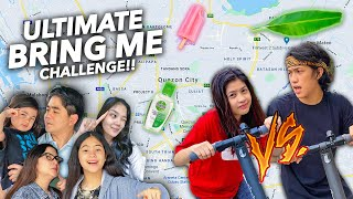 "ULTIMATE ""BRING ME"" Game Around Our CITY !! (Seah VS Ranz) 