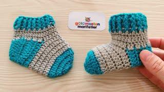 Очень легкий новорожденный ребенок вязаные детские пинетки носки с рисунком