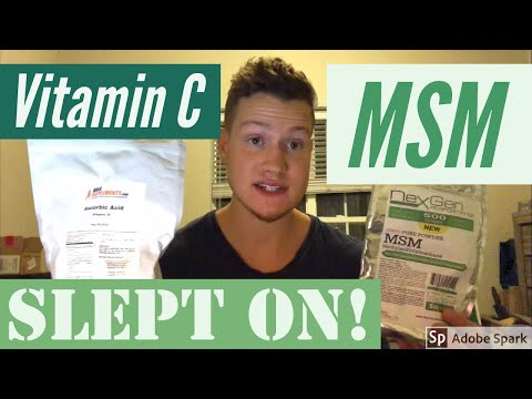 MSM Benefits with Vitamin C Review / Dosage / Benefits for Detox / Skin / Hair / Nails Powder