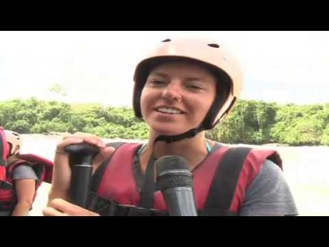 Busoga Tourist Attractions: The swashbuckling bungee-jumping at Bujagali