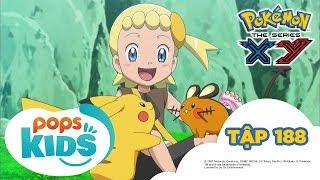 Pokémon Tập 188 - Pikachu và Dedenne! Má Hồng Cọ Xát - Hoạt Hình Tiếng Việt Pokémon S17 XY