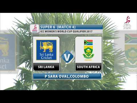 South Africa v Sri Lanka, ICC Women's World Cup Qualifier, 2017