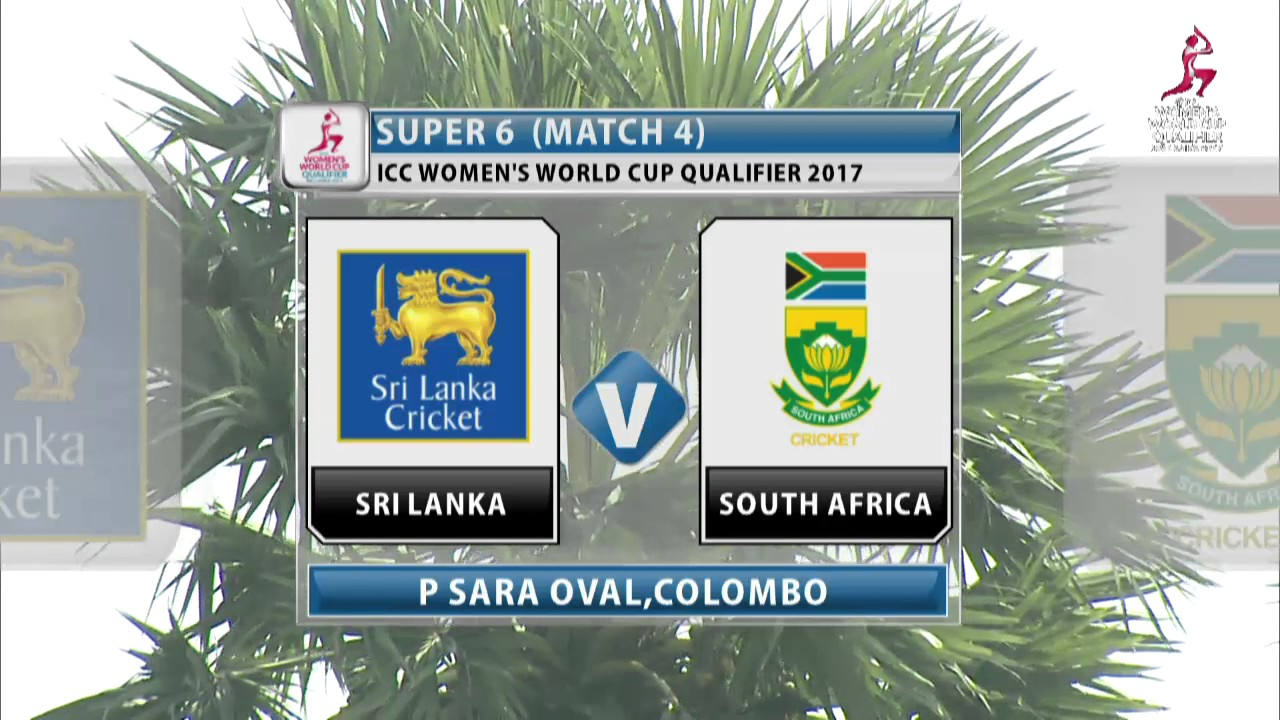 South Africa v Sri Lanka, ICC Women's World Cup Qualifier, 2017