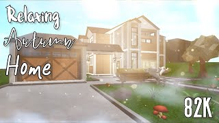 82k | Relaxing Autumn Home | Roblox Bloxburg