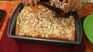 Lazy Man's Berry Almond Cake