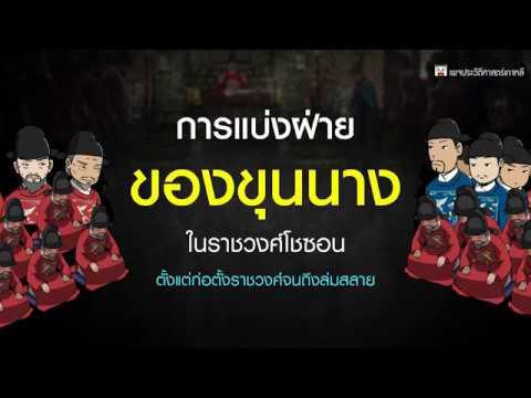 การแบ่งฝ่ายของขุนนางเกาหลี แบบย่อ เข้าใจง่าย ;)