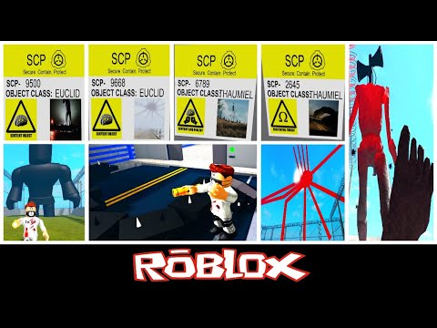 Scp 2645, Scp 9668, Scp 9500 U0026 More (SCP - Cryptids Containment By Tangyboomboy1) [Roblox]