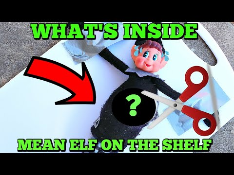 WHATS INSIDE MEAN ELF ON THE SHELF! Mean Elf Twins Are Back!