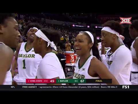 Dana McKenzie - Baylor women have earned #1 seed in NCAA Tournament