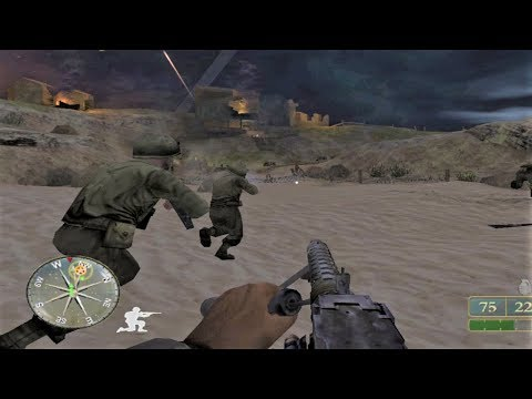 WW2 - American Army in Sicily - Operation Husky - Call of Duty 2 Big Red One
