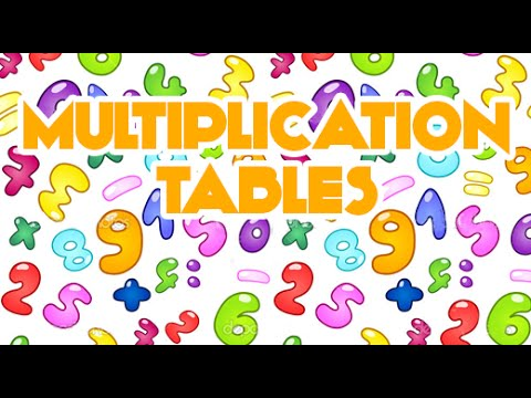 Multiplication Songs For Children Multiplication Table 2d