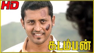 Video Deepraj Rana tracks Arya's location by his brother  | Kadamban Scenes | Arya's Father dies download MP3, 3GP, MP4, WEBM, AVI, FLV Agustus 2019