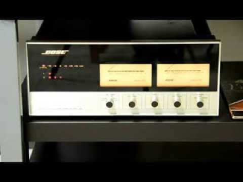 BOSE 1801 - Solid State Power Amplifier - YouTube
