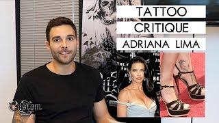TATTOO CRITIQUE - Adriana Lima