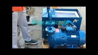 Water Vacuum Pump Installation On China Wood CNC Router-Skype:jackkong66