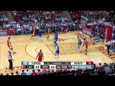 Chandler Parsons vs Los Angeles Clippers 2014.03.29