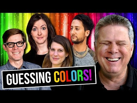 Can YouTubers Described Colors To A Blind Person?