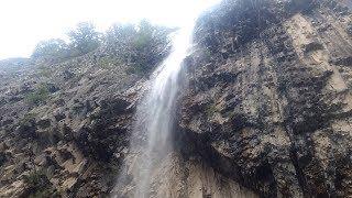 Водопад Илису. Gakh. İlisu waterfall.
