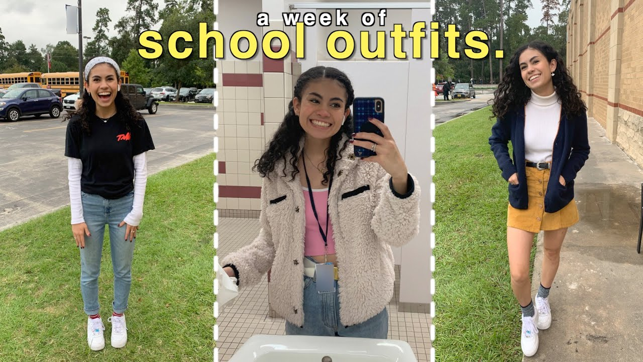 [VIDEO] - What I wear to school (outfits of the week) 9