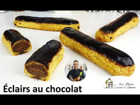 recette-Éclairs-au-chocolat