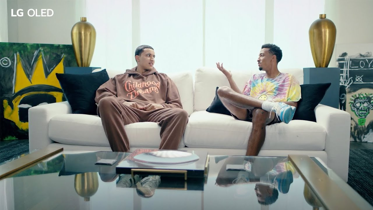 Hanging With Kuz, Only on LG OLED – Part 2: Hi LG, What's an NFT? | Lakers