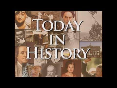 Today in History for October 20th