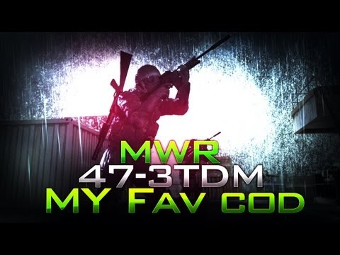 MWR 47 Kill TDM - Which COD is my Favorite