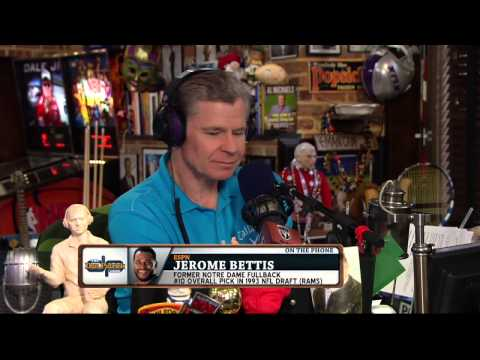 Jerome Bettis on the Dan Patrick Show (Full Interview) 2/4/15