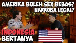 DI AMERIKA BOLEH SEX BEBAS, MENGHINA PRESIDEN, NARKOBA LEGAL? - [ INDONESIA BERTANYA ]