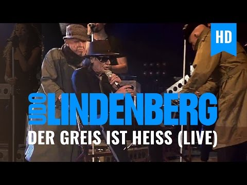Udo Lindenberg - Der Greis ist heiß (Live-Video 2012)