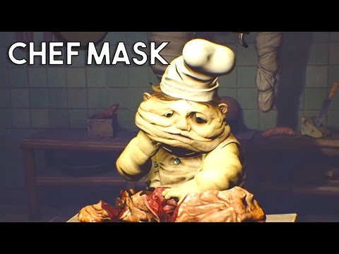 Little Nightmares Under The Mask - Little Nightmares Chef Face