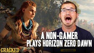 A Non-Gamer Plays Horizon Zero Dawn - Cracked Plays (Let's Play)