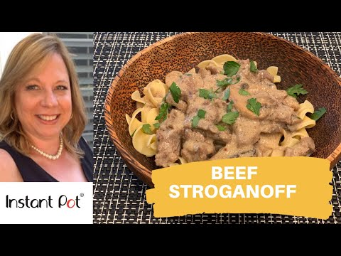 Best Ever Beef Stroganoff Recipe | Instant Pot