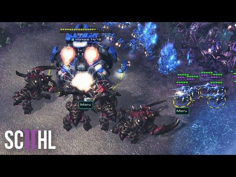 The Greatest Players: Maru vs. Serral  - Starcraft 2