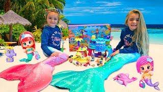 La Isla Magica de Sirenas!! Las Ratitas!!
