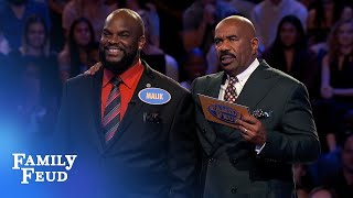 Fast Money no problem for Houston | Family Feud