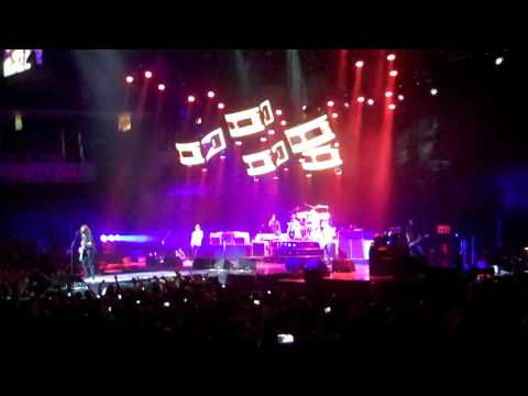 Foo Fighters - First Four Songs - Time Warner Cable Arena Charlotte, NC 11/08/2011
