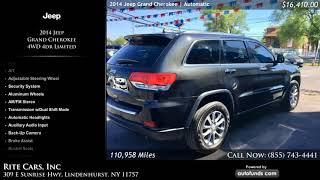 Used 2014 Jeep Grand Cherokee   Rite Cars, Inc, Lindenhurst, NY