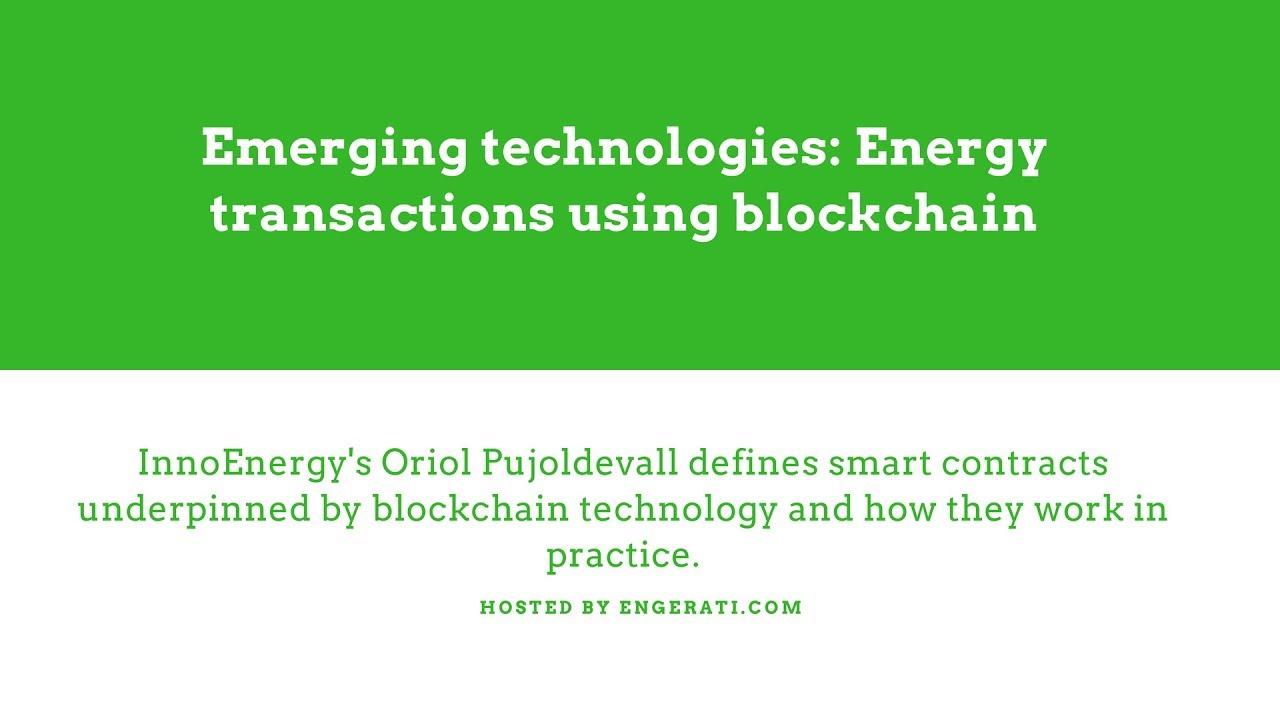 InnoEnergy and Ferranti Blockchain Webinar