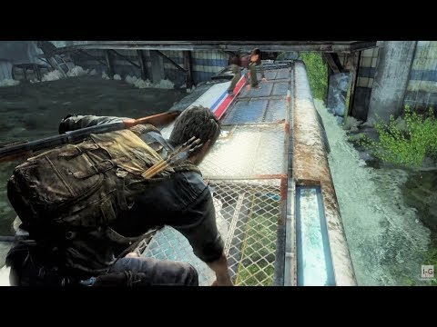 The Flooded Tunnel - Underground Tunnel - The Last Of Us