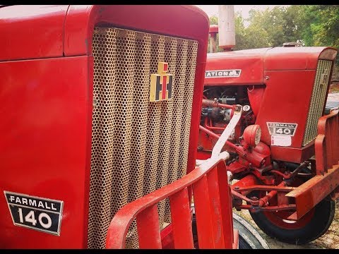 1979 IH Farmall 140 , Highest serial # to date # 66896 - YouTube