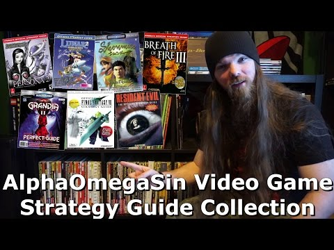 AlphaOmegaSin Video Game Strategy Guide Collection