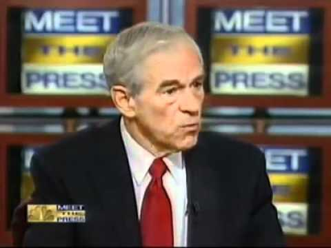 Ron Paul on NBC Talks about Aaron Russo's movie.flv