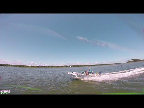 Chasing Boats and Skimming Waves