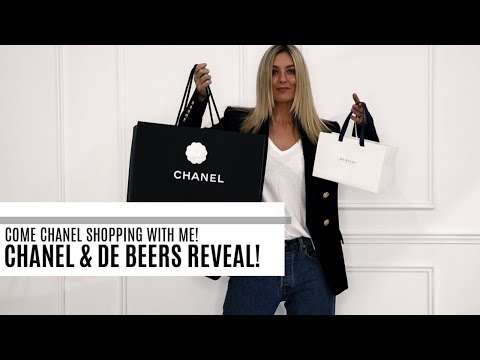 COME CHANEL SHOPPING WITH ME | CHANEL & DE BEERS REVEAL | IAM CHOUQUETTE